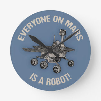 Mars Census Wallclock