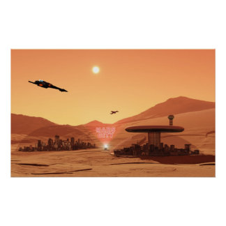 Mars City Poster