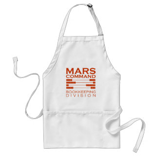 Mars Command Bookkeeping Division Standard Apron