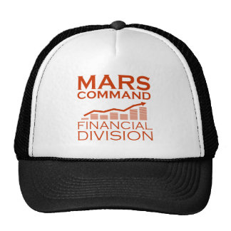 Mars Command Financial Division Cap