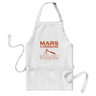 Mars Command Geology Division Standard Apron