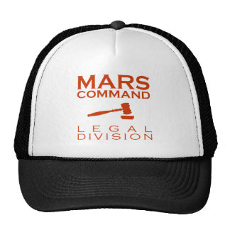 Mars Command Legal Division Cap