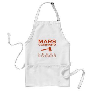 Mars Command Legal Division Standard Apron