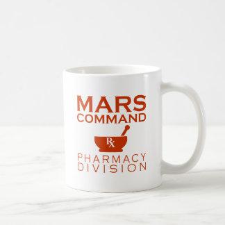 Mars Command Pharmacy Division Coffee Mug