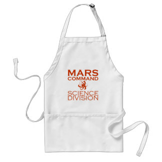 Mars Command Science Division Standard Apron