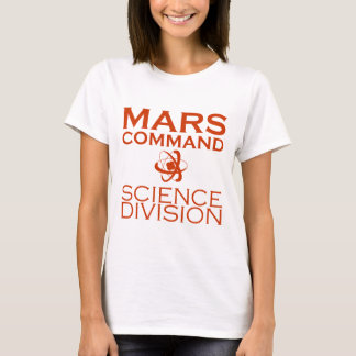 Mars Command Science Division T-Shirt