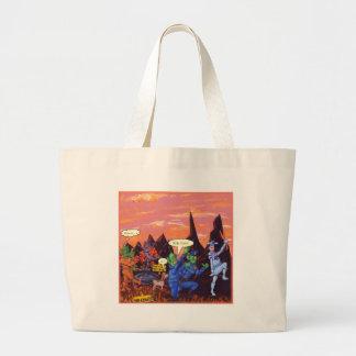 Mars Cows Jumbo Tote Bag