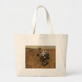 Mars Curiosity Self Portrait Tote Bag