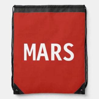 Mars Drawstring Backpack