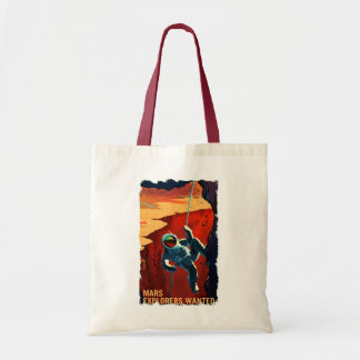 Mars Explorers Wanted - Recruitment Tote Bag