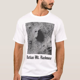 mars face, Martian Mt. Rushmore T-Shirt