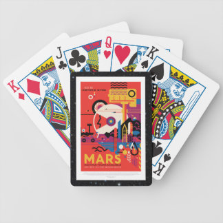 Mars Historic Sight holiday advert space tourism Poker Deck