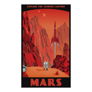 Mars - Large format Poster