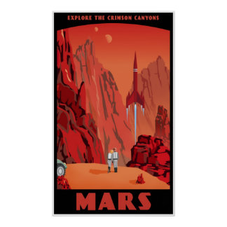 Mars large version posters