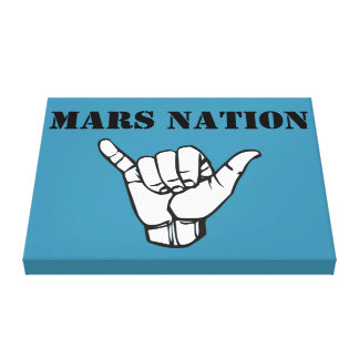 Mars Nation army Canvas Print