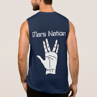 Mars Nation Peace Sleeveless Shirt