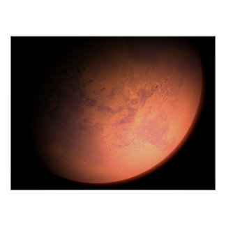 Mars Orbit Poster