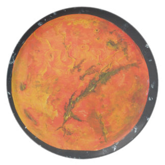 Mars Party Plates