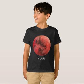 Mars Planet Watercolor Kid's T T-Shirt