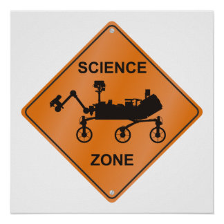 Mars Science Zone Poster