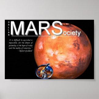 Mars Society Poster