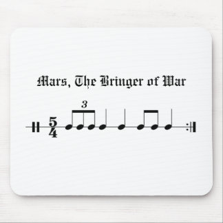 Mars, The Bringer of War Mouse Pad