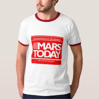 Mars Today Retro Pop Culture Sci-Fi Graphic T-Shirt