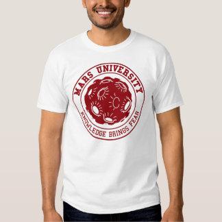 mars university tshirt