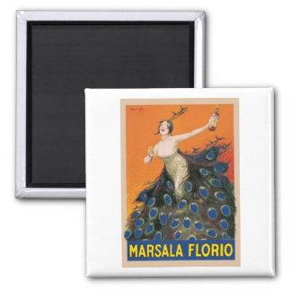 Marsala Florio Square Magnet