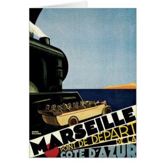 Marseille ~ Cote D'Azur Greeting Card