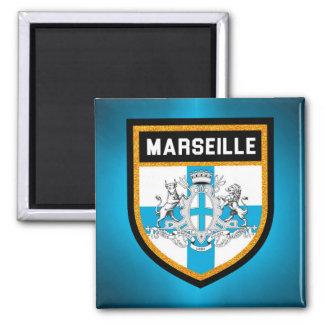 Marseille Flag Magnet
