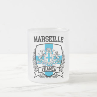 Marseille Frosted Glass Coffee Mug