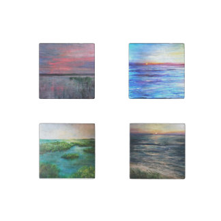 Marsh and Beach magnet set