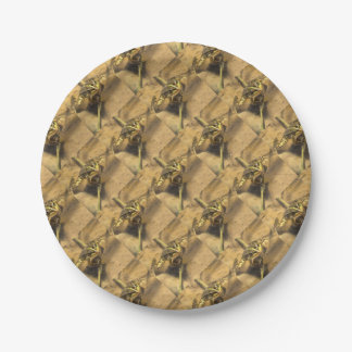 Marsh Frog 7 Inch Paper Plate