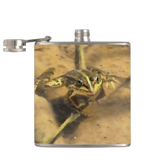 Marsh Frog Hip Flask