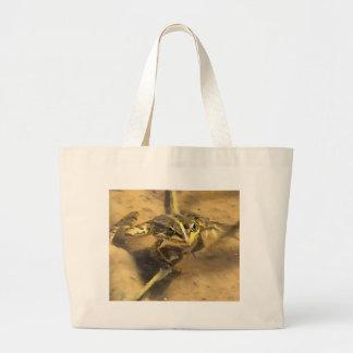 Marsh Frog Large Tote Bag