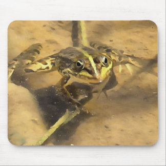 Marsh Frog Mouse Pad