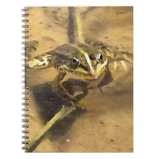 Marsh Frog Notebook
