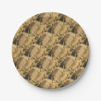 Marsh Frog Paper Plate