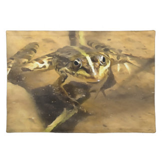 Marsh Frog Place Mat
