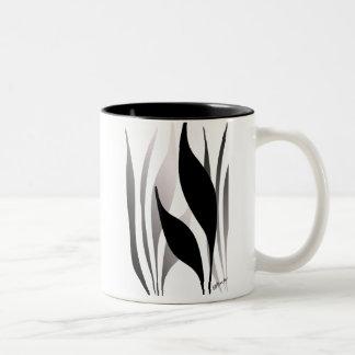 Marsh Grass II Two-Tone Coffee Mug