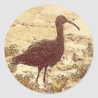Marsh Ibis Stickers