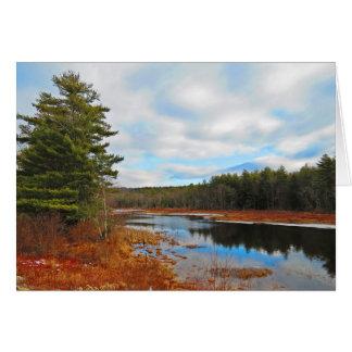 Marsh Stream Card