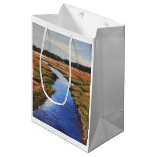 Marsh view on gift bag