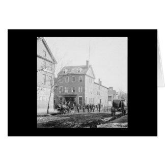 Marshall House in Alexandria, VA 1865 Card