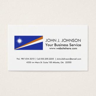 Marshall Islands Flag Business Card