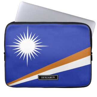 Marshall Islands Flag Laptop Computer Sleeve