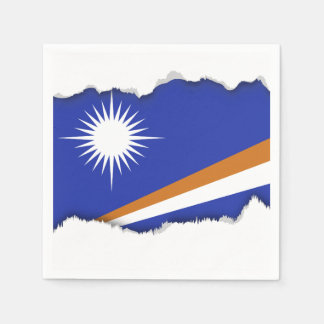 Marshall Islands Flag Paper Serviettes