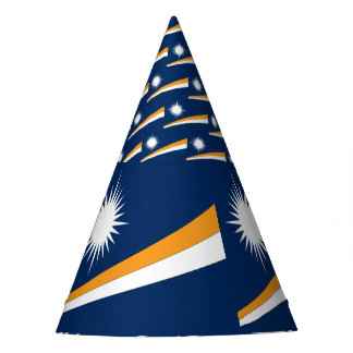 Marshall Islands Flag Party Hat