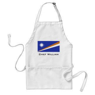 Marshall Islands Flag Standard Apron